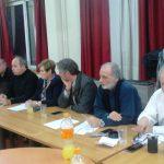 Ο Δημήτρης Καμπόσος στην Συντονιστική Επιτροπή διοργάνωσης του συλλαλητηρίου των Αθηνών
